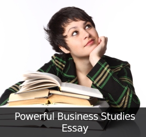 Powerful Business Studies Essay